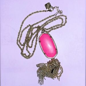 Neon Pink Rayne Necklace